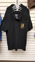 Black Polo - $25: Limited sizes