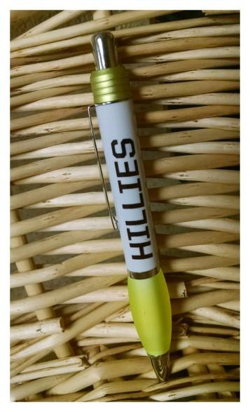 Hillies Pen/White - $1