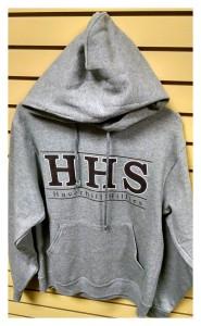 2015/2016 Hoodie Front Grey