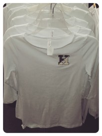 White Ladies 1/2 Sleeve Shirt