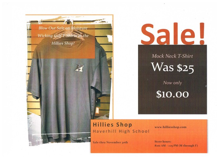 grey t sale poster