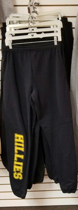 Black Sweatpants/Elastic Bottom