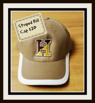 Striped Bill Cap