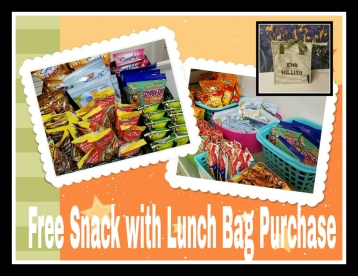 Lunch bag sale