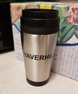 Stainless Travel Mug - $7