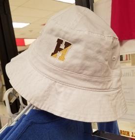 White Bucket Hat -