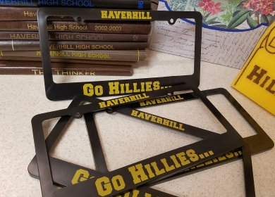 License Plate Holders - $5