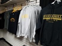 hoodies and tees
